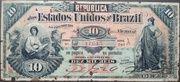 10 Mil Réis 8ª Estampa 1892 – avers