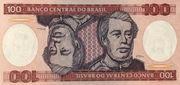 100 Cruzeiros -  avers