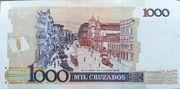 1000 Cruzados (Stamped 1 Cruzado novo) – revers
