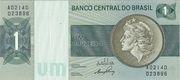 1 Cruzeiro (Banco Central do Brasil) – avers