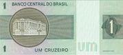 1 Cruzeiro (Banco Central do Brasil) – revers