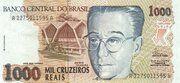 1000 Cruzeiros reais – avers