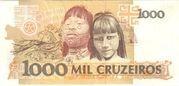 1000 Cruzeiros – revers