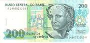 200 Cruzeiros – avers