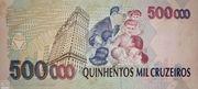 500000 Cruzeiros – revers