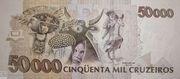 50 Cruzeiros Reais – revers