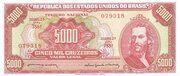 5000 Cruzeiros – avers