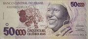 50000 Cruzeiros Reais – avers