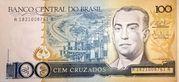 100 Cruzados Brazil – avers