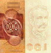 100 Cruzeiros (Banco Central do Brasil; 1st family; 1st type) -  avers