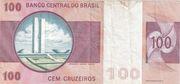 100 Cruzeiros – revers