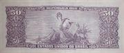 5 Centavos (Stampted on 50 Cruzeiros) – revers