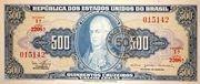 50 Centavos (Stampted on 500 Cruzeiros) – avers