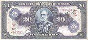 20 Cruzeiros (overprint 20 Mil Réis [P# 48]) -  avers