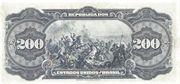 200 Mil Réis (Caixa de Estabilização; 1st print) – revers