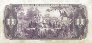 1 Conto de Réis (Caixa de Estabilização; 1st print) – revers