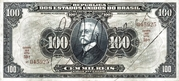 100 Mil Réis (Thesouro Nacional; 16th print) -  avers