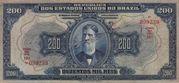 200 Mil Réis (Thesouro Nacional; 16th print) – avers