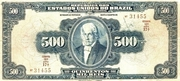 500 Mil Réis (Thesouro Nacional; 12th print) -  avers