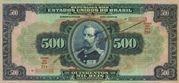 500 Mil Réis (Thesouro Nacional; 15th print) – avers