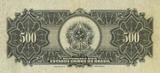 500 Mil Réis (Thesouro Nacional; 15th print) – revers