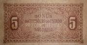5 Mil Réis (Constitutionalist Revolution of 1932) – revers
