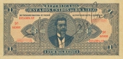 1 Mil Réis (Thesouro Nacional; 11th print) – avers