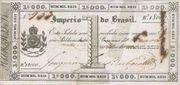 1 Mil Réis (Thesouro Nacional; Copper coin exchange) -  avers
