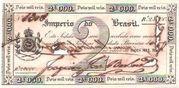 1 Mil Réis (Thesouro Nacional; Copper coin exchange) – avers