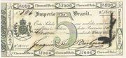 5 Mil Réis (Thesouro Nacional; Copper coin exchange) – avers