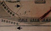 100 Mil Réis (Thesouro Nacional; Copper coin exchange) -  avers