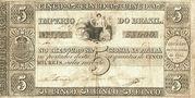5 Mil Réis (Thesouro Nacional; 1st print) – avers