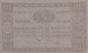 10 Mil Réis (Thesouro Nacional; 1st print) -  revers