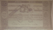 20 Mil Réis (Thesouro Nacional; 1st print) -  revers