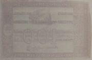 100 Mil Réis (Thesouro Nacional; 1st print) -  revers