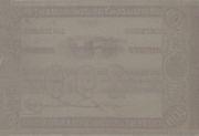 200 Mil Réis (Thesouro Nacional; 1st print) -  revers