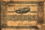 500 Mil Réis (Thesouro Nacional; 1st print) -  avers