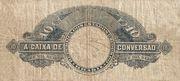 10 Mil Réis (Caixa de Conversão; 2nd print) -  revers