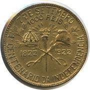 1000 réis (Centenaire de l'indépendance) -  revers