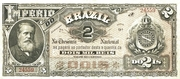 2 Mil Réis (Tesouro Nacional - 8ª Estampa) (1888) – avers