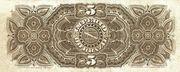 5 Mil Réis (Tesouro Nacional; 8ª Estampa) (1882) – revers