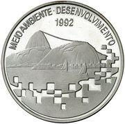 2000 cruzeiros (Conférence sur l'environnement) – revers