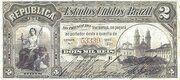 2 Mil Réis (Tesouro Nacional - 8ª Estampa) (1890) – avers