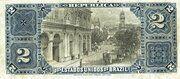 2 Mil Réis (Tesouro Nacional - 8ª Estampa) (1890) – revers