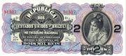 2 Mil Réis (Tesouro Nacional - 9ª Estampa) (1899) – avers