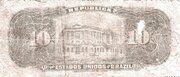 10 Mil Réis (Tesouro Nacional; 11ª Estampa) (1907) – revers