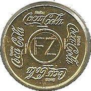 Brazil FZ Coca Cola Vending Machine Token – avers