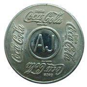 Coca Cola Vending Machine Token (AJ - Aracaju) – avers