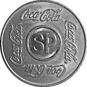 Coca-Cola Vending Machine Token (SP - São Paulo, Brazil) – avers