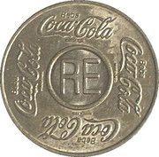 Coca-Cola Vending Machine Token (RE - Brazil) – avers